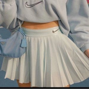 Nike Court Victory Tennis Skirt Pleated Baby Blue